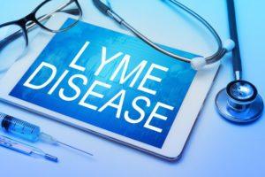 lyme disease concept
